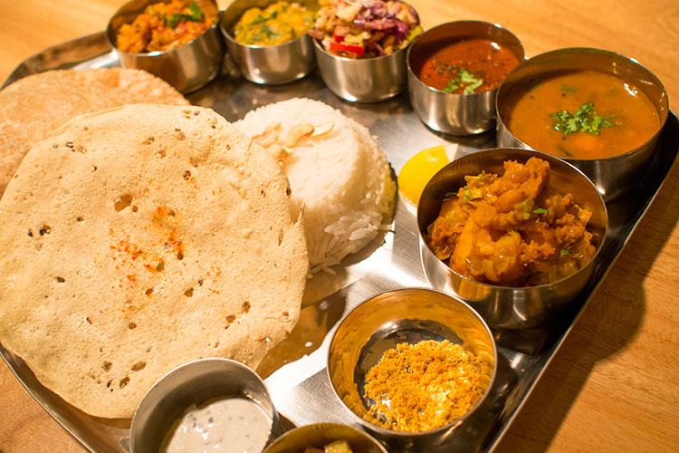 ゼリージュで南インド料理