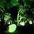 福岡城 チームラボ 城跡の光の祭1