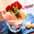 鈴懸の苺パフェ