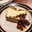 ラムレーズンのチーズケーキ
