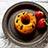 発酵黒豆と黒胡麻の低糖質ドーナツ