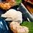 磯貝の刺し盛り