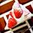 Amisの苺のムースタルト