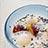 サツマイモと白玉団子の温かいチェー