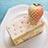 白苺のケーキ