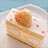 白イチゴのケーキ再び